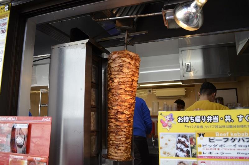 Star Kebab Akihabara meat