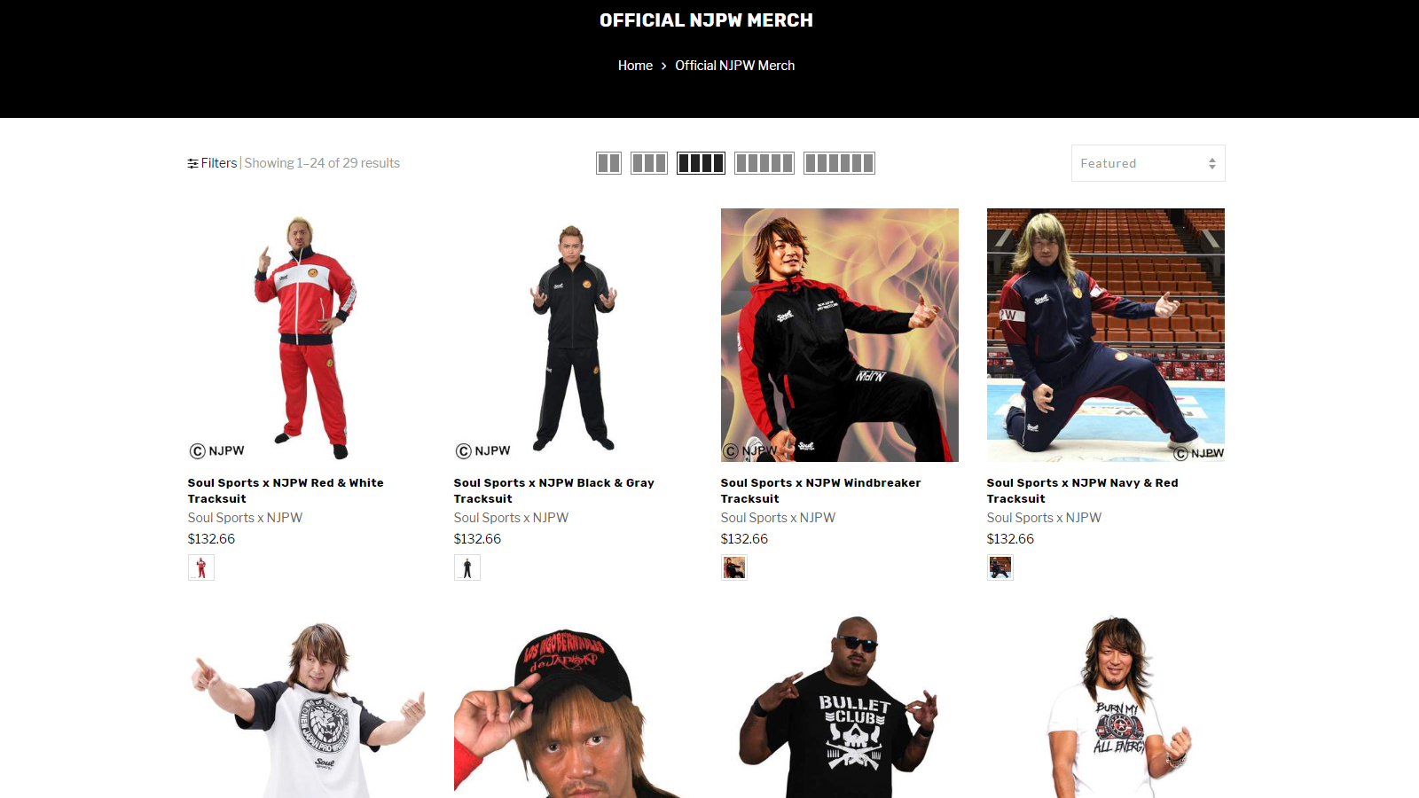 OFFICIAL NJPW MERCH