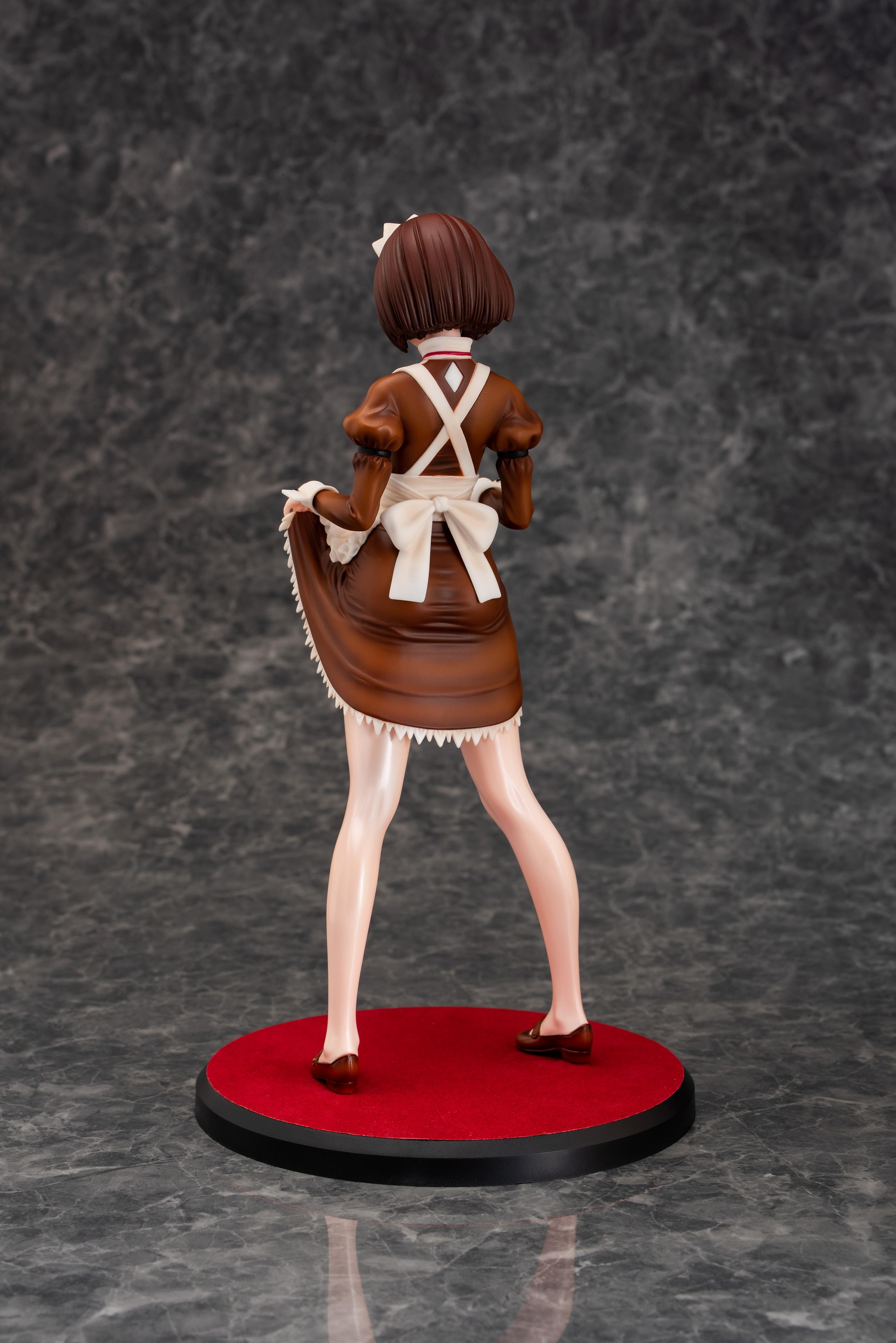 Iya na Kao Sarenagara Opantsu Misetemoraitai Figure - Maid no Itou Chitose-san (Brown Version)