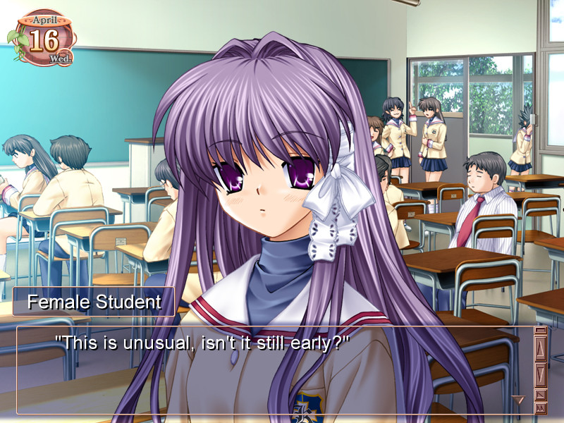 clannad visual novel
