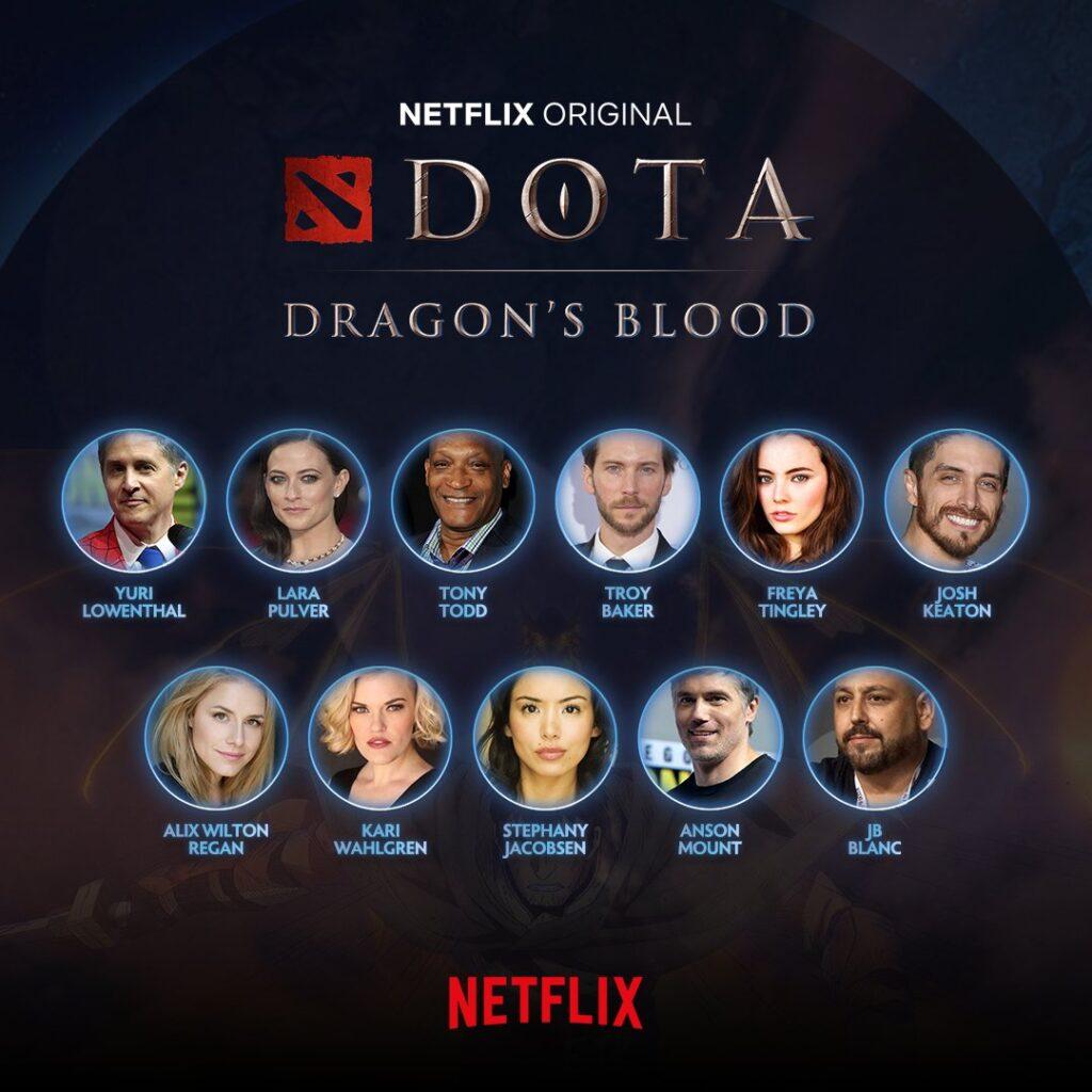 DOTA Voice Actors