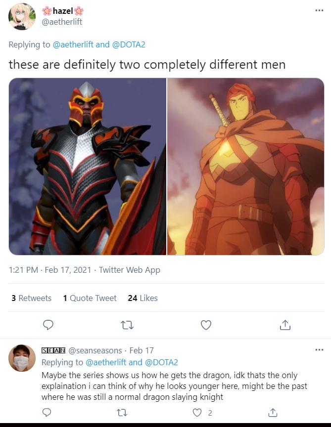 DOTA Davion comparison
