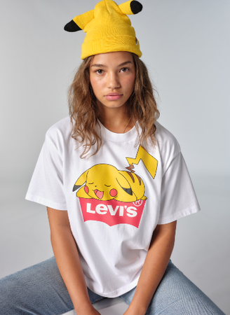 Levis Pikachu hat and shirt