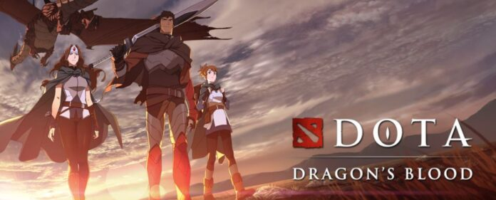 DOTA Anime announcement