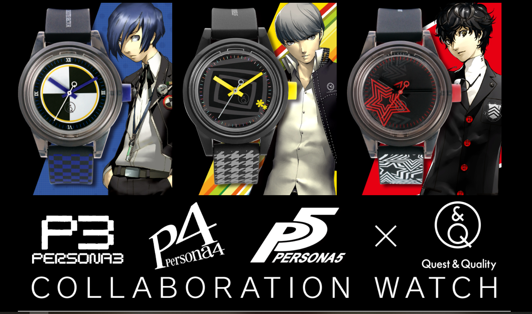 Persona watch designs