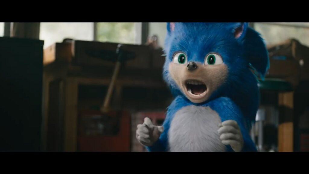 Sonic Movie first design