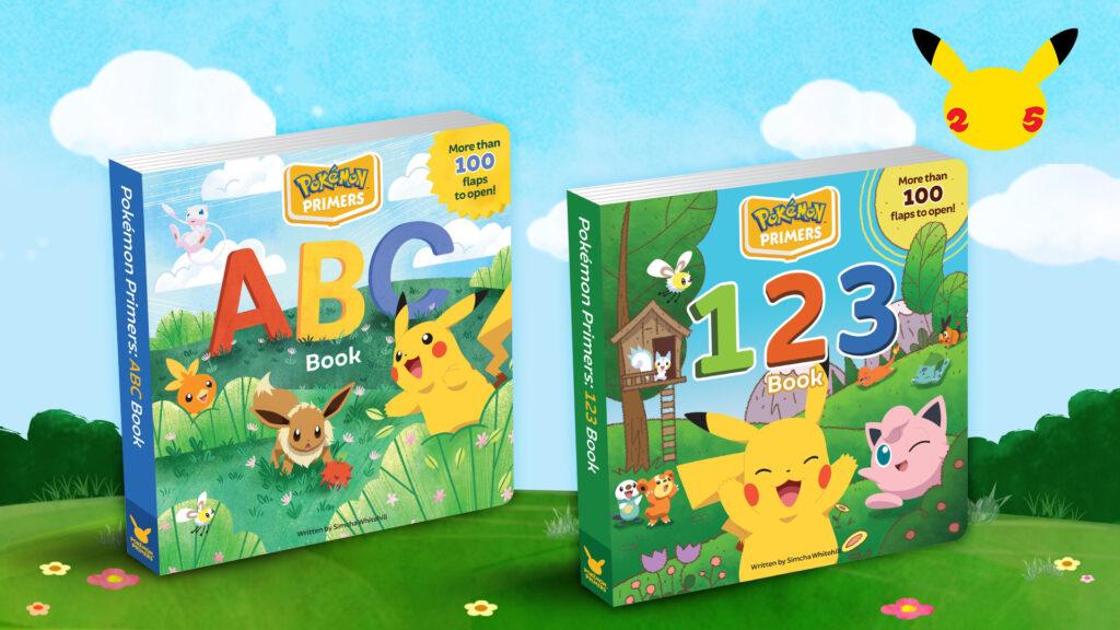 Pokémon anniversary books